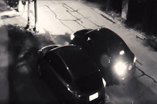 Roba ruedas en acción en La Plata