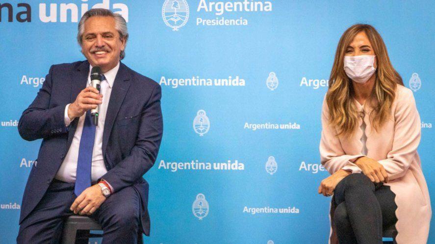 Alberto Fernández alabó la gestión de Victoria Tolosa Paz