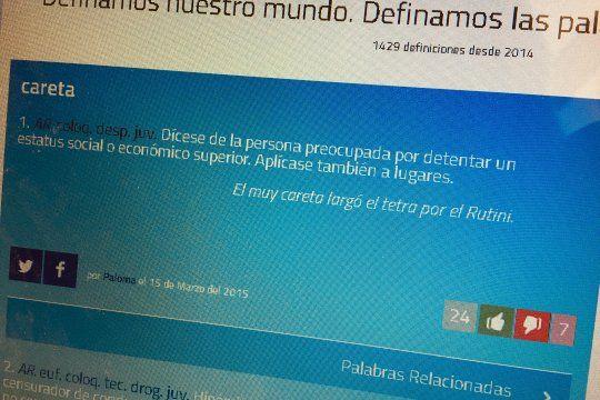 El Diccionario de la UNTREF es online