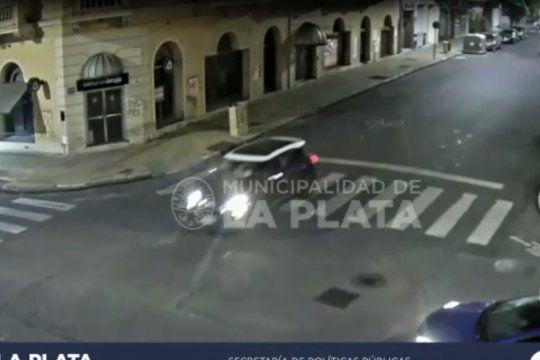 Las cámaras esclarecieron parte de la secuencia del robo a Carolina Píparo