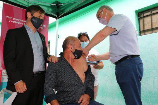 Al menos 61 intendentes bonaerenses recibieron la vacuna
