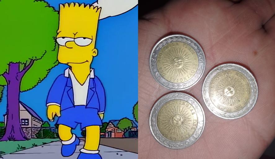 Los memes de las monedas con el error ortográfico se reproducen con las horas