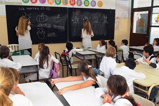 Pese a que desde marzo los alumnos de la escuela primaria no tienen clases presenciales, serán promovidos al siguiente año.