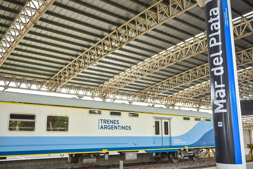 Tren Constitución - Mar del Plata: horarios, precios y recorridos