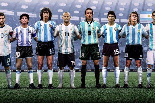 La Selección de íconos y leyendas publicada por FIFA causó revuelo en las redes.