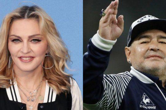 Madonna fue tendencia en las redes por error. Confundieron su nombre con el de Maradona.