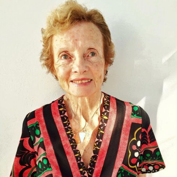 Lillian Clarke cumplirá 91 años el próximo 21 de junio
