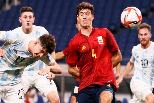 Argentina igualó 1-1 con España y se despidió de Tokio 2020.