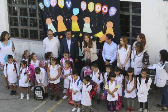 en medio del paro, vidal agradecio a los docentes que ?abrieron las puertas? de las escuelas en la provincia