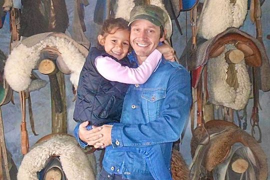 benjamin vicuna se hizo un tatuaje en homenaje a su hija blanca