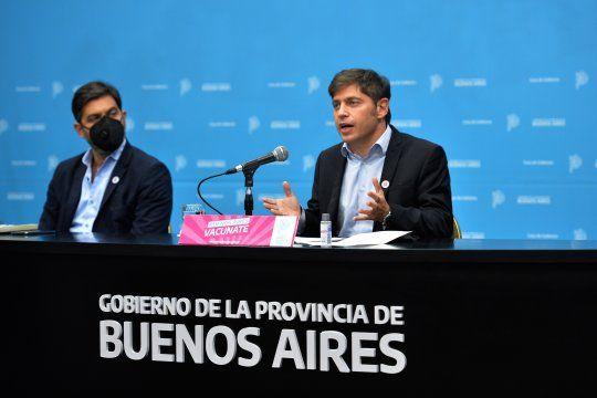 Hay que seguir trabajando en bajar los casos aseguró Kicillof, que implementará las mismas medidas anunciadas por Alberto Fernández.