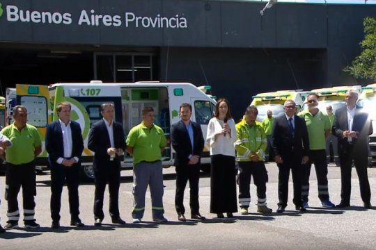 la gobernadora vidal anuncio la ampliacion del same a nuevos municipios bonaerenses