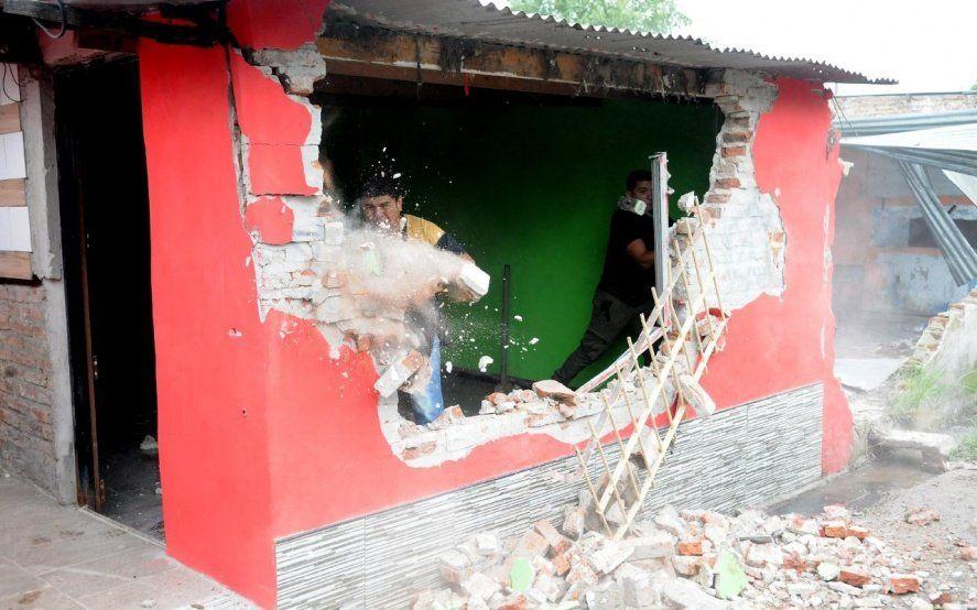 Destruyen dos nuevos búnkeres en el oeste del Conurbano y suman 89 los derribados