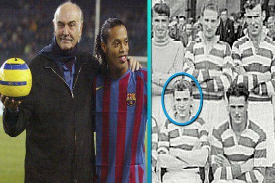 Sean Connery fue una de las estrellas de un club de fútbol escocés