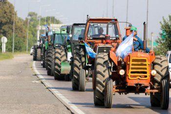 Sin Coninagro, el campo convocó al paro de en rechazo al cierre temporal del registro de exportaciones de maíz dispuesto por el Gobierno.