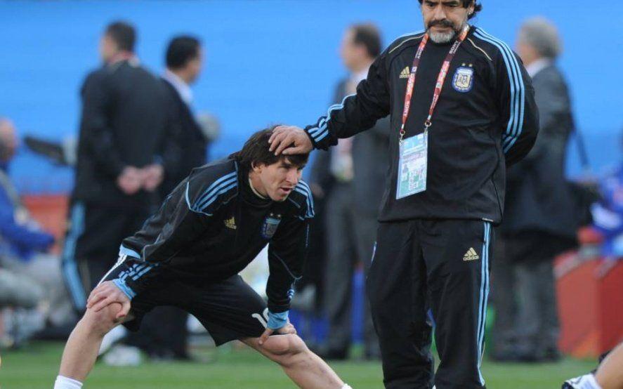 El mejor sobre el mejor: mirá que dijo Messi sobre la llegada de Maradona a Gimnasia