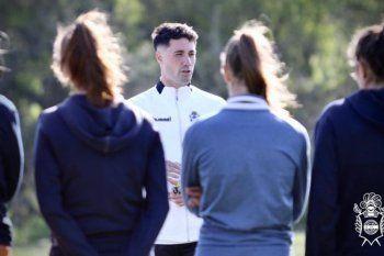 Franco Bertera es el nuevo DT del fútbol femenino de Gimnasia.
