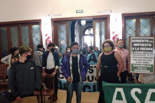 El Colectivo por la Diversidad de Olavarría cuetionó el veto al Cupo Trans. Foto gentileza: Central de Noticias Olavarría