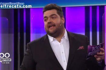 Darío Barassi repitiendo una fake news sobre Gimnasia y su ya desmantelada mentira de no poseer campeonatos