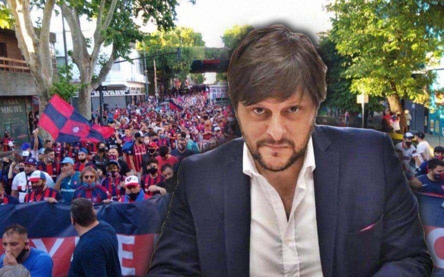 El discurso de Santoro sobre al vuelta de San Lorenzo a Boedo fue inolvidable.