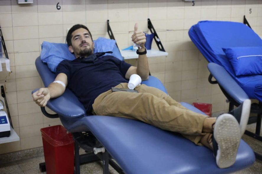 Cómo funciona la donación de plasma en La Plata