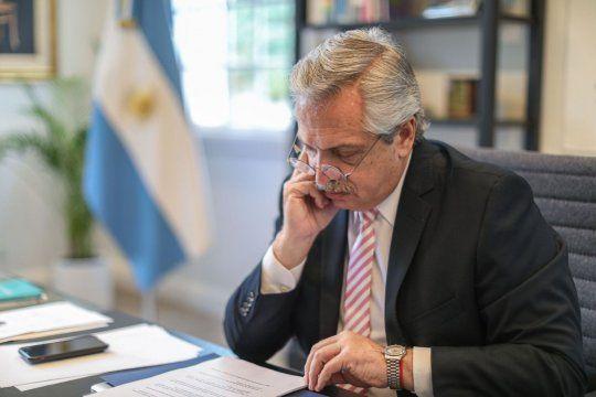 Akberto Fernández presentó su plan de seguridad