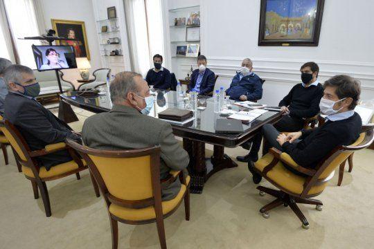 Kicillof se reunió en mayo con el grupo de los seis