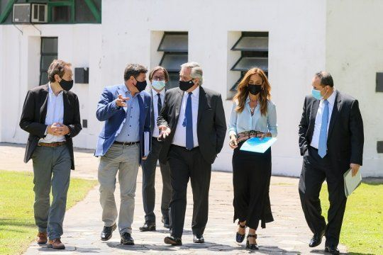 Argentina contra el hambre: primera cumbre desde Olivos