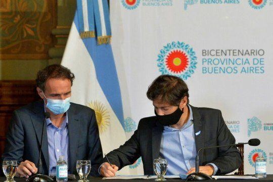 provincia y nacion firman convenios para obras de infraestructura
