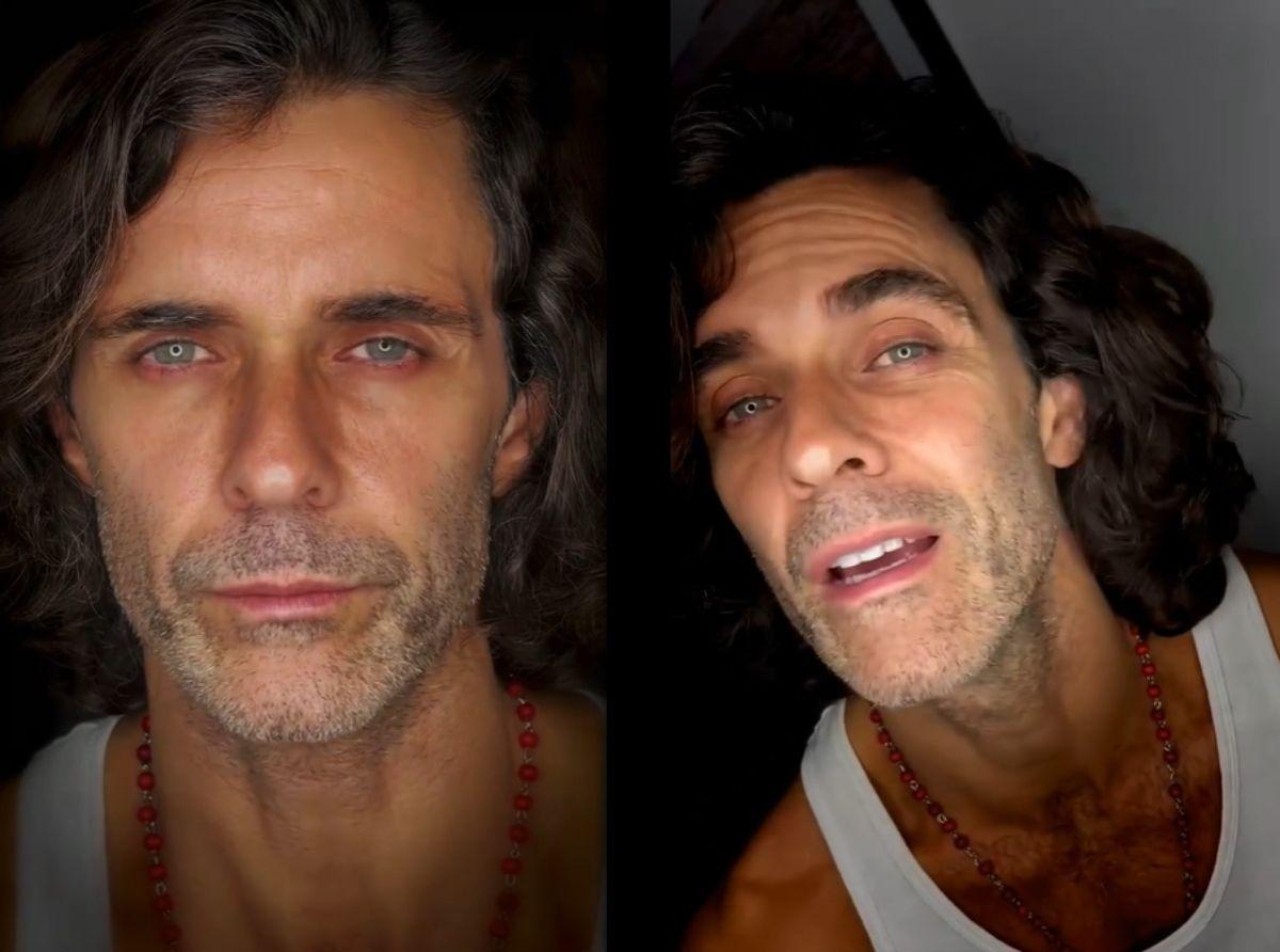 Mariano Martínez hizo un cover de Crimen, de Gustavo Cerati