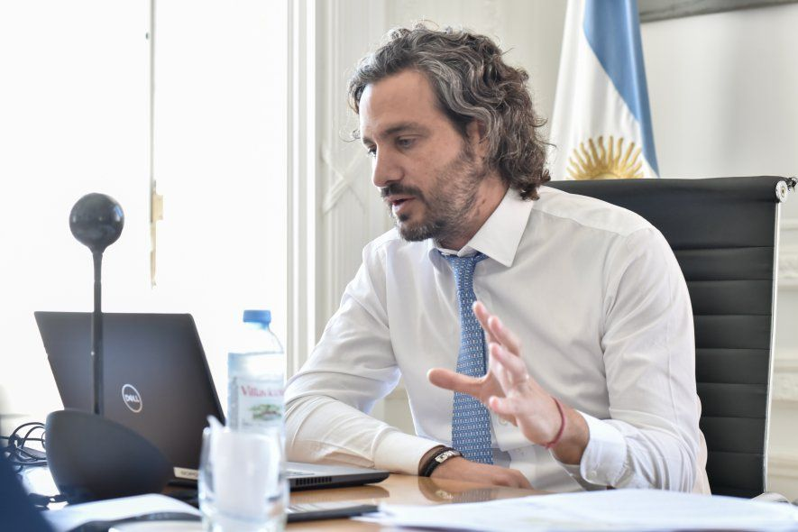 Santiago Cafiero y una comparación incómoda para Mauricio Macri.