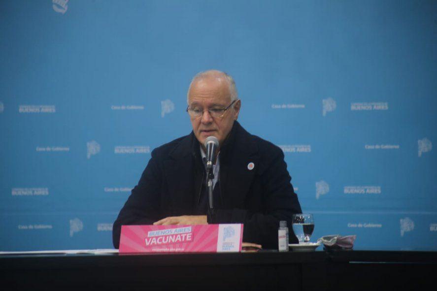 El ministro de Salud bonaerense