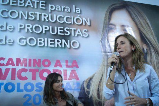 tolosa paz presento su plan de gestion con criticas al gobierno local: ?garro es el caos platense?