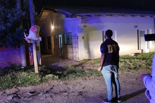 El crimen ocurrió en inmediaciones de esta casa de Necochea