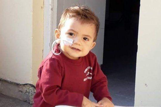 todos con cirito: tiene un ano, necesita un trasplante y su familia pide ayuda para su tratamiento