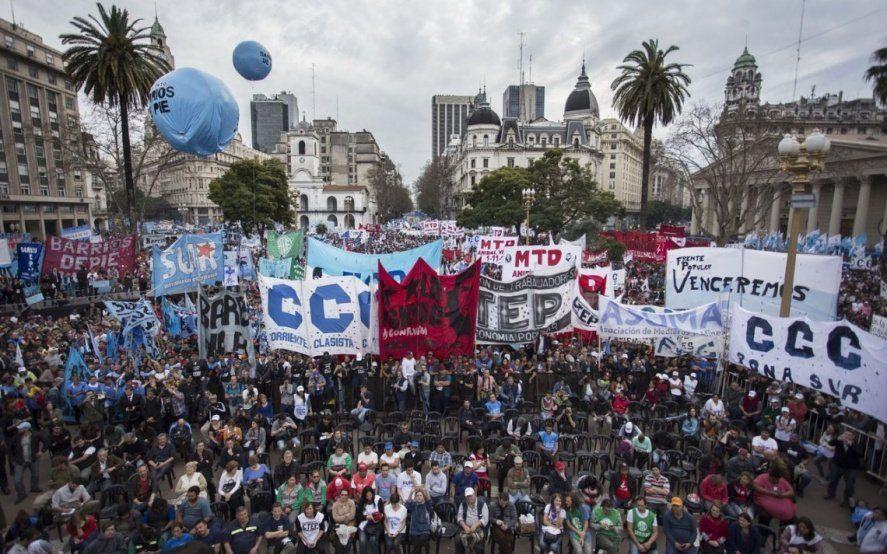 Ante la crisis económica, ATE y la CTA Autónoma se suman a la marcha de los movimientos sociales