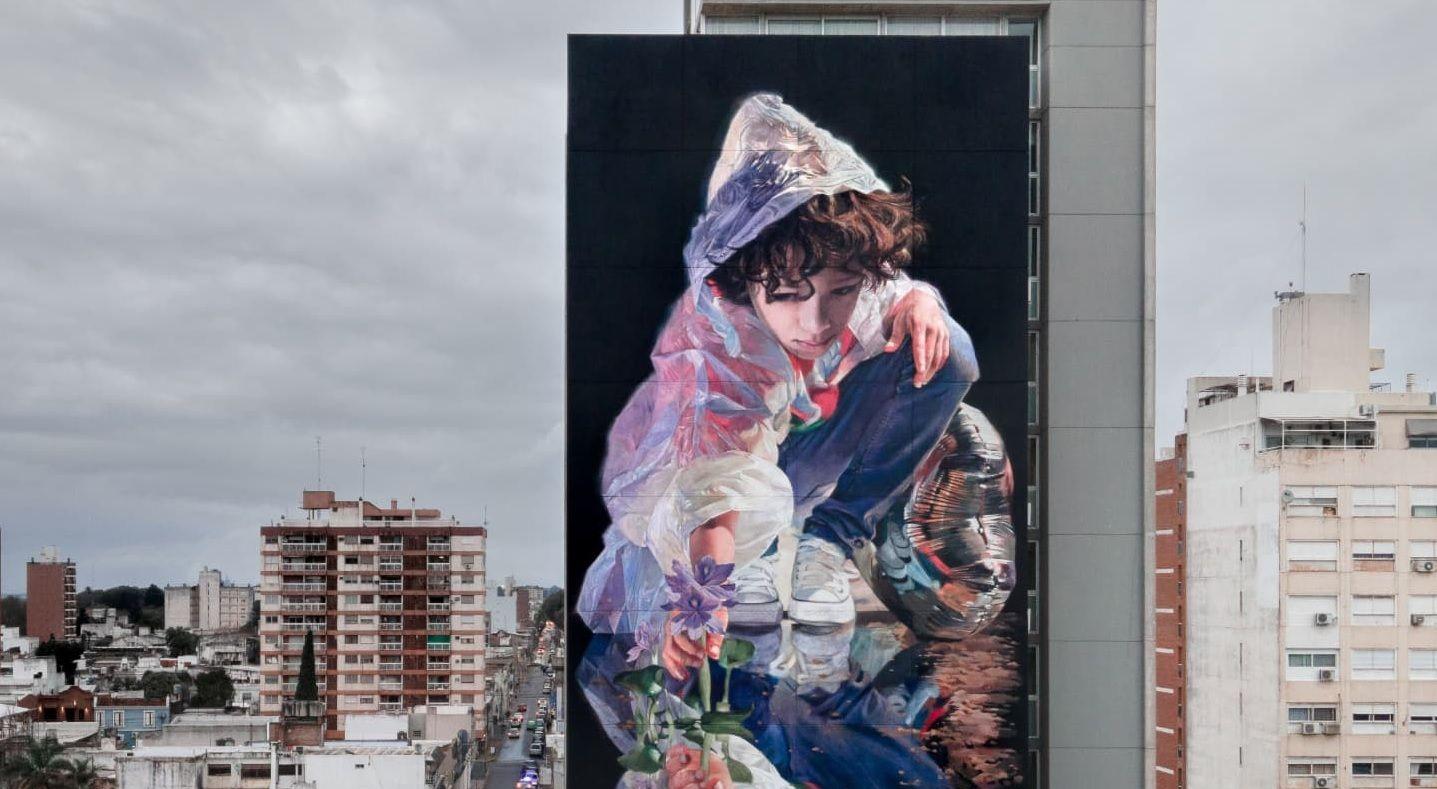 Martín Ron está considerado uno de los diez mejores representantes del street art en el mundo (Foto: Facebook Martín Ron)