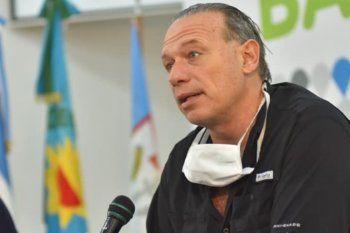 Sergio Berni es el ministro de Seguridad de la provincia de Buenos Aires.