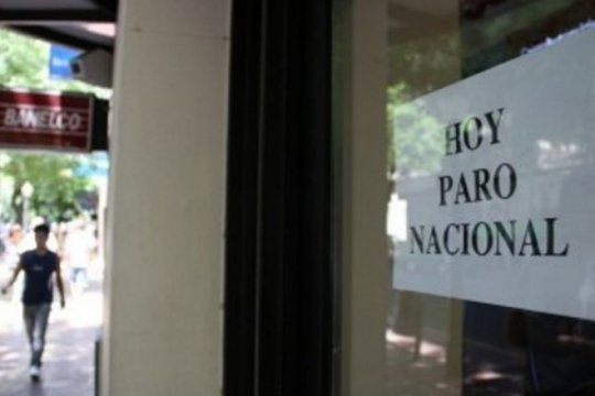 bancarios inician el paro nacional y no habra reposicion de dinero hasta el miercoles en los cajeros
