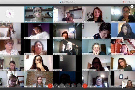 las ?mujeres fr? tuvieron su primer encuentro nacional virtual
