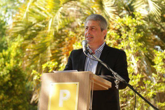 Javier Martínez, intendente de Pergamino