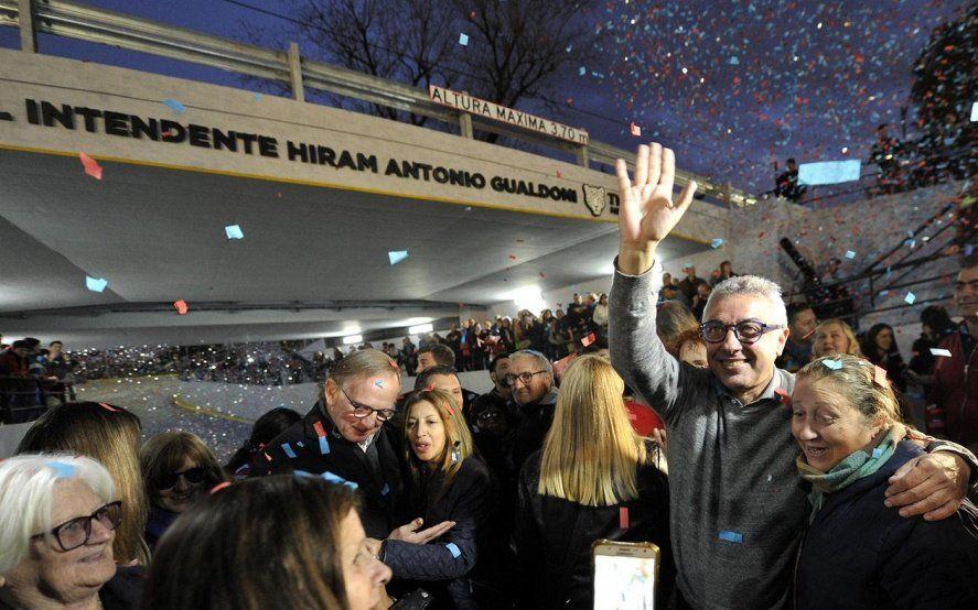 Julio Zamora: Inauguramos una obra que representa integración y progreso para nuestra comunidad