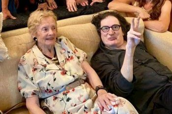 Charly García y Lilian Clark festejaron juntos la Nochebuena