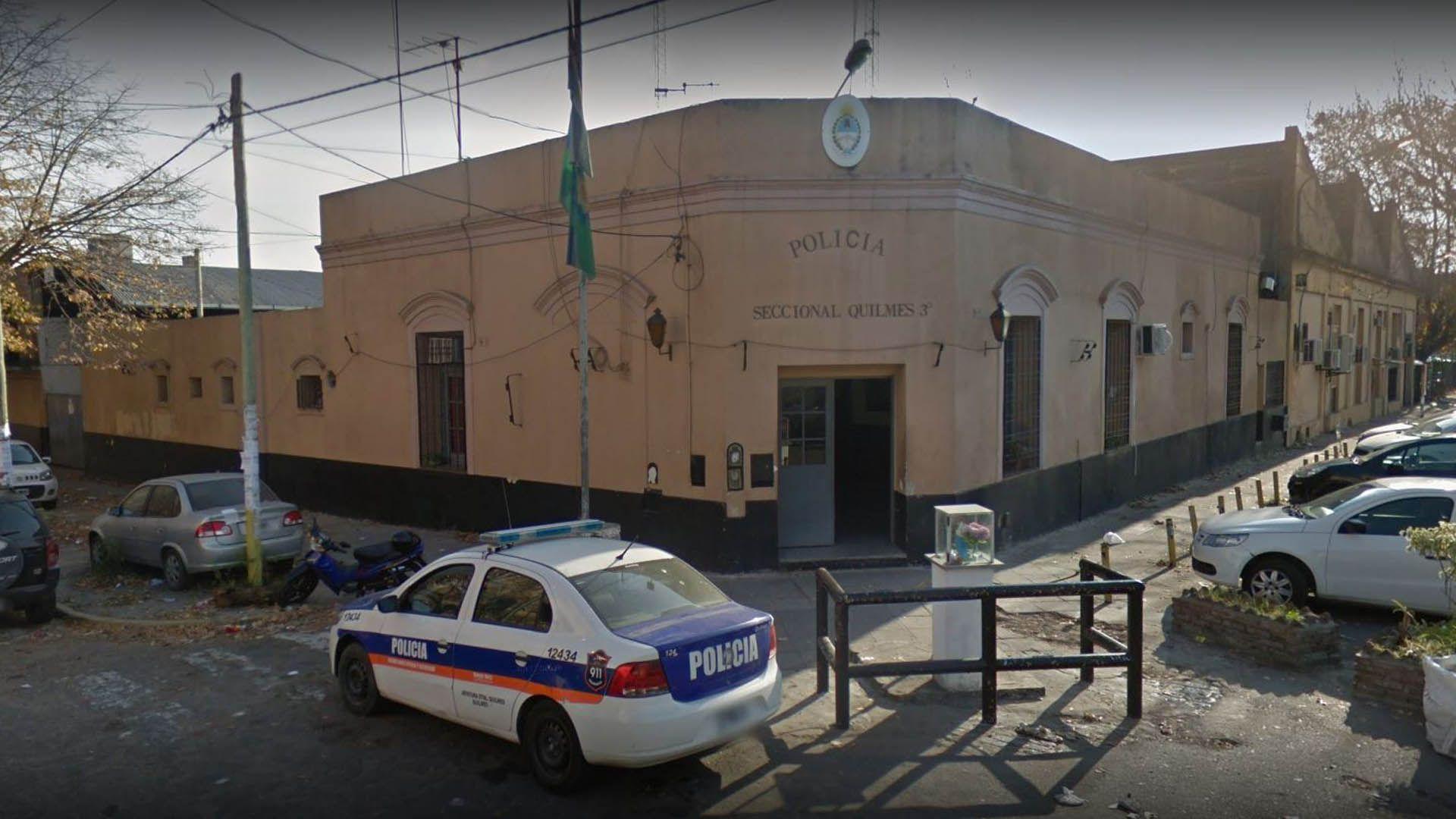 quilmes: una policia cubrio a su sobrino de un delito