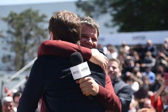 Facundo Manes relanzó con Diego Santilli la campaña de Juntos en Tigre