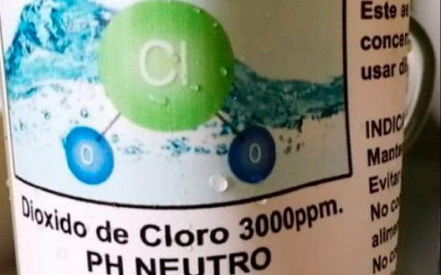 Dióxido de cloro: investigan si un hombre murió por consumirlo