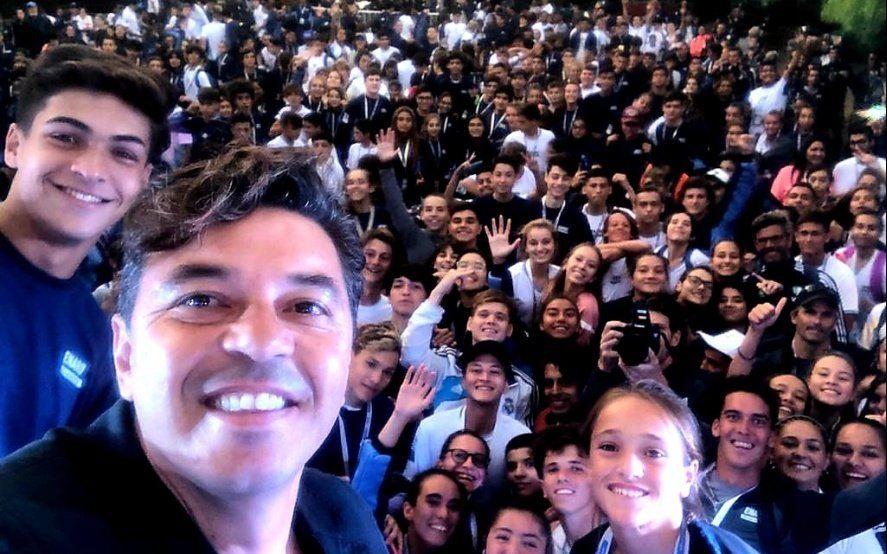 Las mejores frases de Marcelo Gallardo en su sorpresiva visita al Cenard