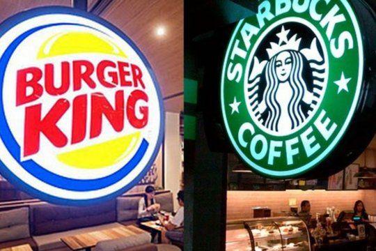Starbucks y Burger King siguen en Argentina.
