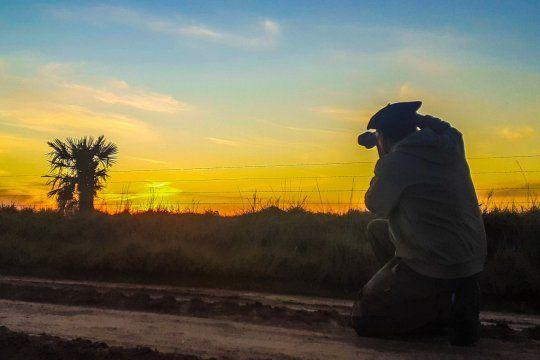 Iván comparte fotos del paisaje rural de la provincia en un grupo que tiene casi 130 mil seguidores.