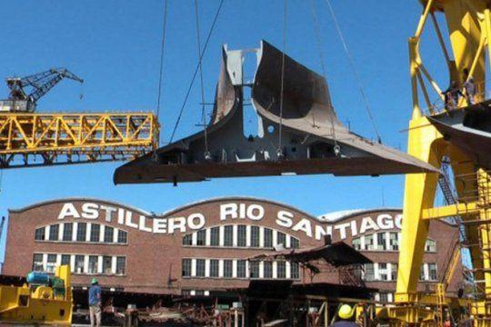 antes de reunion con provincia, trabajadores de astillero rio santiago advierten con medidas de fuerza